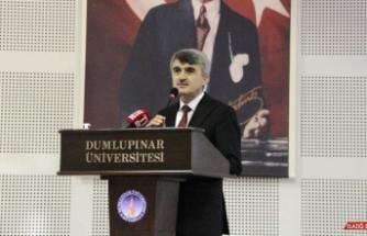 """Rektör Uysal: """"Ahmet Yakupoğlu gerçek bir mürşittir"""""""