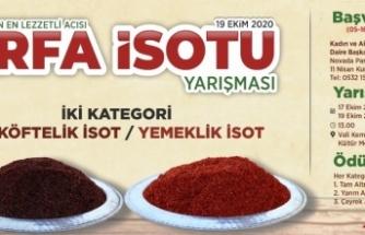 'Urfa isotu' yarışması düzenlenecek