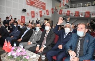 Yeniden Refah Partisi Genel Başkanı Fatih Erbakan Kars'ta konuştu: