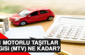 2021 Motorlu Taşıtlar Vergisi (MTV) Ne Kadar?