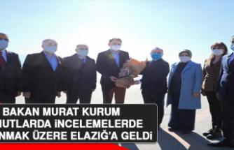 Bakan Murat Kurum Elazığ'da