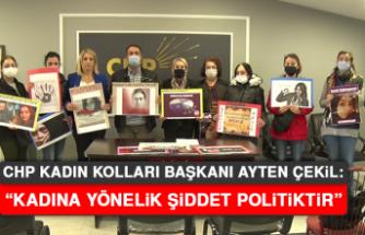 """Başkan Çekil: """"Kadına yönelik şiddet politiktir"""""""