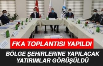 FKA Toplantısı Vali Erkaya Yırık Başkanlığında Yapıldı
