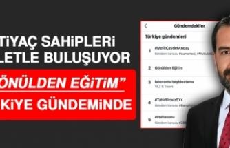 Gönülden Eğitim, Türkiye Gündemine Girdi