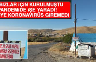 Hırsızlar İçin Kurulmuştu, Pandemide İşe Yaradı Bu Köye Koronavirüs Giremedi