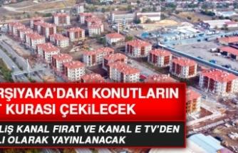 Karşıyaka'daki TOKİ Konutlarının Kat Kurası Çekilecek