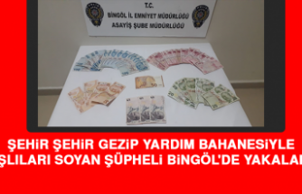 Şehir Şehir Gezip Yaşlıları Soyan Şüpheli Bingöl'de Yakalandı