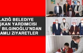 Elazığ Belediye Başkan Yardımcısı Nazif Bilginoğlu'ndan Anlamlı Ziyaretler