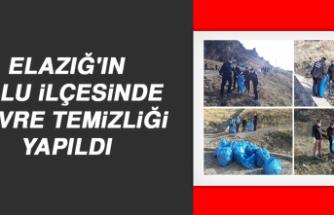 Elazığ'ın Palu İlçesinde Çevre Temizliği Yapıldı