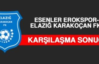 Esenler Erokspor 1-0 Elazığ Karakoçan FK