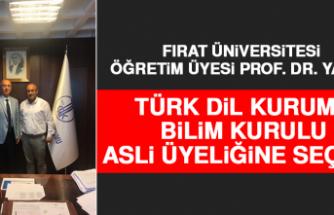 FÜ Öğretim Üyesi Yavuz Türk Dil Kurumu Bilim Kurulu Asli Üyeliğine Seçildi!