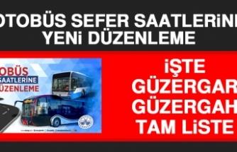 Otobüs Sefer Saatlerine Yeni Düzenleme