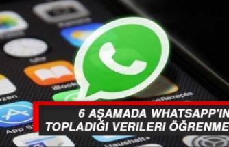 6 Aşamada WhatsApp'ın Topladığı Verileri Öğrenme Yolu
