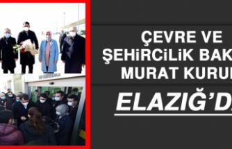 BAKAN MURAT KURUM ELAZIĞ'DA