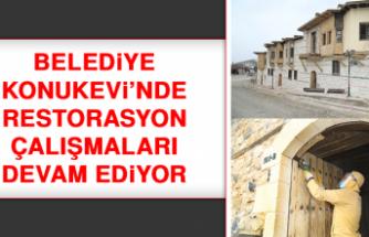 Belediye Konukevi'nde Restorasyon Çalışmaları Devam Ediyor