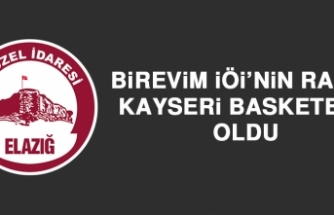 Birevim İÖİ'nin Rakibi Kayseri Basketbol Oldu