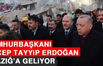 Cumhurbaşkanı Erdoğan, Elazığ'a Geliyor!