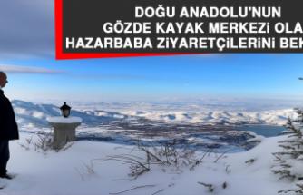 Doğu Anadolu'nun Gözde Kayak Merkezi Olan Hazarbaba Ziyaretçilerini Bekliyor