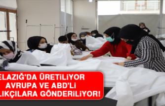 Elazığ'da Üretiliyor, Avrupa ve ABD'li Sağlıkçılara Gönderiliyor!