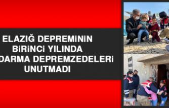 Elazığ Depreminin Birinci Yılında Jandarma Depremzedeleri Unutmadı