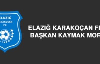 Elazığ Karakoçan FK'ya Başkan Kaymak Morali