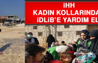 İHH Kadın Kollarından İdlib'e Yardım Eli
