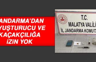 Jandarma'dan Uyuşturucu ve Kaçakçılığa İzin Yok