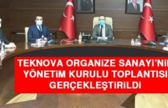 TEKNOVA Organize Sanayi'nin Yönetim Kurulu Toplantısı Gerçekleştirildi