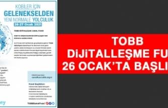 TOBB Dijitalleşme Fuarı 26 Ocak'ta Başlıyor