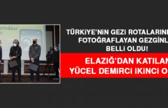 Türkiye'nin Gezi Rotalarını En İyi Fotoğraflayan Gezginler Belli Oldu! Elazığ'dan Katılan Demirci İkinci Oldu