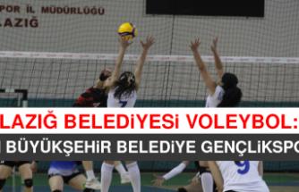 Elazığ Belediyesi Voleybol: 3 - Van Büyükşehir Belediye Gençlikspor:2