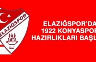 Elazığspor'da 1922 Konyaspor Hazırlıkları Başladı