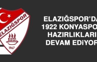Elazığspor'da 1922 Konyaspor Hazırlıkları Devam Ediyor