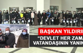 AK Parti İl Başkanı Şerafettin Yıldırım: Devlet Her Zaman Vatandaşının Yanında