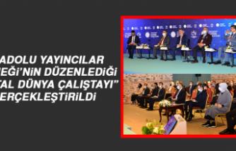 """AYD'nin Düzenlediği """"Dijital Dünya Çalıştayı"""" Gerçekleştirildi"""