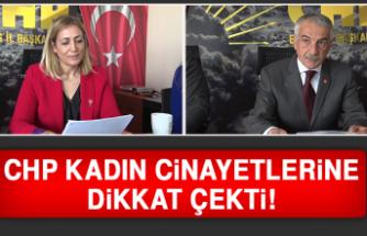 CHP Kadın Cinayetlerine Dikkat Çekti