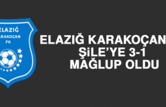 Elazığ Karakoçan FK, Şile'ye 3-1 Mağlup Oldu