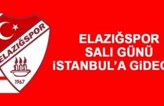 Elazığspor, Salı Günü İstanbul'a Gidecek