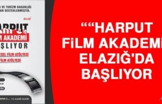 """""""Harput Film Akademi"""" Elazığ'da Başlıyor"""