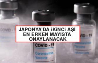 Japonya'da İkinci Aşı En Erken Mayısta Onaylanacak