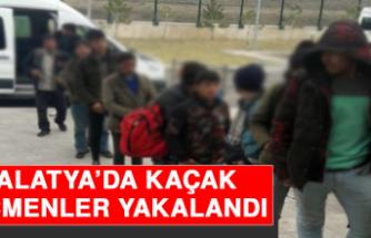 Malatya'da Kaçak Göçmenler Yakalandı!