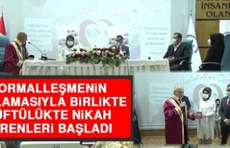 Normalleşmenin Başlamasıyla Birlikte Müftülükte Nikah Törenleri Başladı