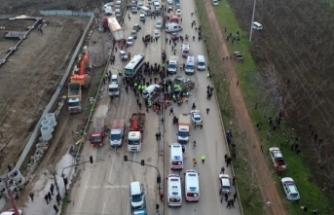 Bursa'da 4 kişinin öldüğü kazada tır şoförü kusurlu bulundu