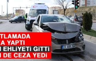 Kısıtlamada Kaza Yaptı Hem Ehliyeti Gitti Hem de Ceza Yedi