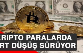 Kripto Paralarda Sert Düşüş Sürüyor