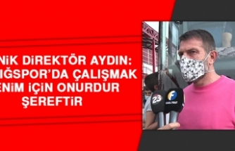 Aydın: Elazığspor'da Çalışmak Benim İçin Onurdur, Şereftir