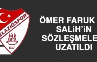 Ömer Faruk ve Salih'in Sözleşmeleri Uzatıldı