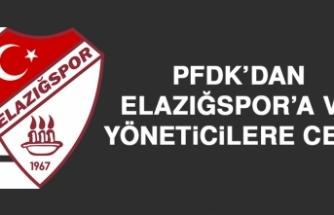 PFDK'dan Elazığspor'a ve Yöneticilere Ceza