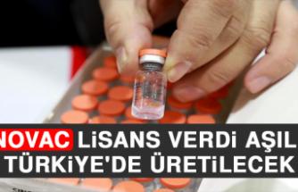 Sinovac Lisans Verdi, Aşılar Türkiye'de Üretilecek