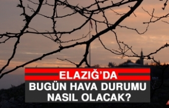 22 Haziran'da Elazığ'da Hava Durumu Nasıl Olacak?